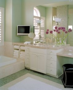 A Private Residence Master Bath By Swanson Interior Design Group
