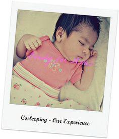 Beauty for Ashes: Cosleeping - Our Experience