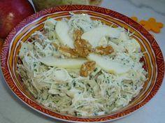 Salade de céleri-rave aux pommes et noix : la recette facile