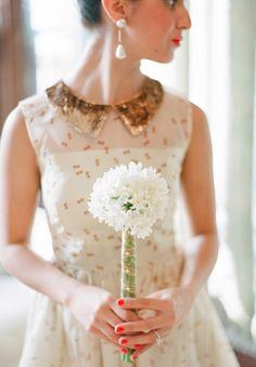 vintage elopement ideas   photo by Kate Romenesko   100 Layer Cake