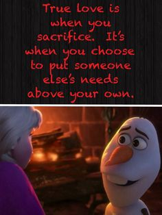 "True Love from the movie ""Frozen"""