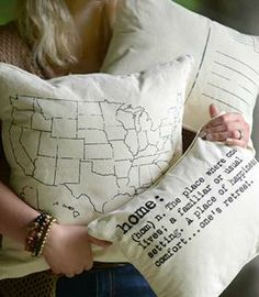 Words to live by. Write a message to your loved ones or best friend on this pillowcase to keep you connected wherever you may be. Contact auctionathome@gmail.com or visit https://www.facebook.com/allastabykate