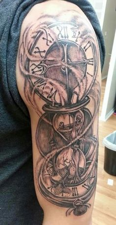 The paradox of time illustrated and tattooed by Sean Kiersztyn