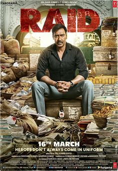 Raid is a story of Amay Patnaik, a bold income tax officer, does a strike at the manor of the most intense man in Lucknow. Download full uncut free film online on movies couch in best quality without any registration process.
