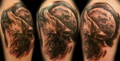 Tattoo Discussion and Community Forum - Find Ideas + Inspiration, Conventions, Jobs, Apprenticeships Wolf Tattoo Design, Tattoo Designs, Tattoo Ideas, Head Tattoos, Tatoos, Big Tattoo Planet, Wolf Moon, Picture Tattoos, Ink
