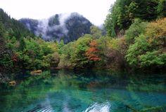 Parque Nacional Jiuzhaigou Valley, China