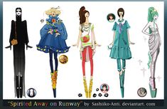 Spirited Away on Runway by Sashiiko-Anti.deviantart.com on @deviantART