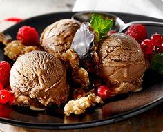Rezept: Marzipan-Nougat-Eis