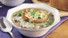 Philly Cheese Steak Onion Soup