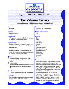 Volcanoes - Graphic Organizers | Discover best ideas about Science ...