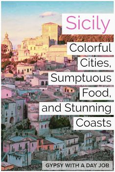 Don't have a boring Sicily Vacation! Plan a Sicily 5 Day Itinerary with beaches, cities, ruins and volcanoes- an exciting 5 Days in Sicily! Italy Travel Tips, Europe Travel Guide, Travel Destinations, Sicily Travel, Iceland Travel, European Destination, European Travel, Italy Vacation, Italy Trip
