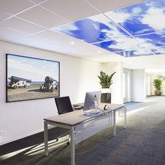 Plafond Lumineux + Fenêtre Virtuelle Lumick #Lumick #Créezvotreciel www.lumick.fr