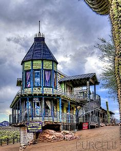Lulu's Bordello Museum - Goldfield Ghost Town - Arizona   (Great place to visit)