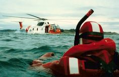 Yes, the USCG HH 3F Pelican helo can land on the water!