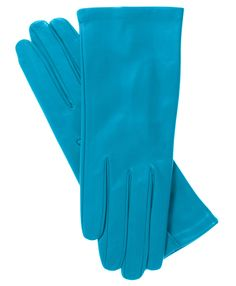 Women's Italian Silk Lined Leather Gloves