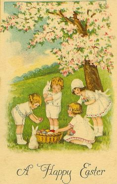 We're doing Easter cards instead of Christmas cards from now on- there's enough to do during the holidays.