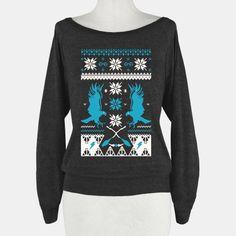 Hogwarts Ugly Christmas Sweater:... | T-Shirts, Tank Tops, Sweatshirts and Hoodies | HUMAN