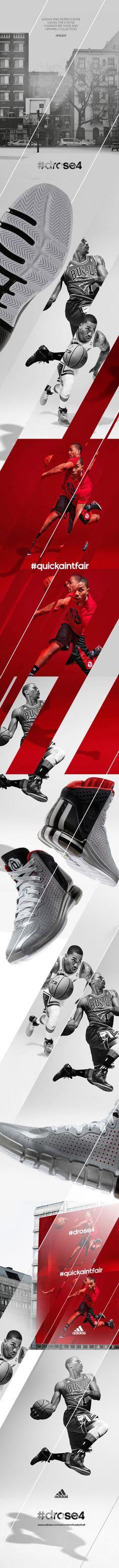 Adidas Drose4 on Behance