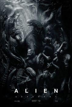 alien covenant | Uusi Alien: Covenant -juliste kumartaa H.R. Gigerin suuntaan | Dome