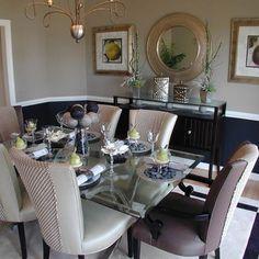 NAVY DINING ROOM | Khaki Navy Design | HOME: Dining Room