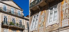 One of my favourite buildings in Chiado covered in tiles