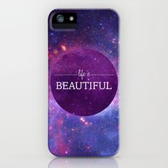 Life is Beautiful iPhone Case by Victoria Spahn - $35.00