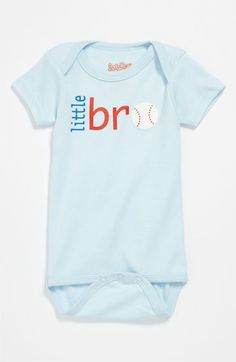 Sara Kety Baby & Kids 'Little Brother' Bodysuit (Baby) available at #Nordstrom