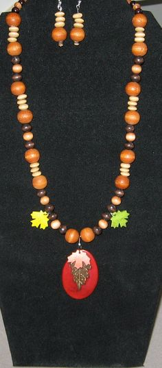 Fall Splendor Necklace by LadyLisaDesigns on Etsy, $10.00