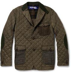 Junya Watanabe Panelled Patchwork Jacket | MR PORTER