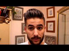 Man Bun - Top Knot Tutorial | Mens hairstyle tutorial | Mens Hair 2014 - YouTube