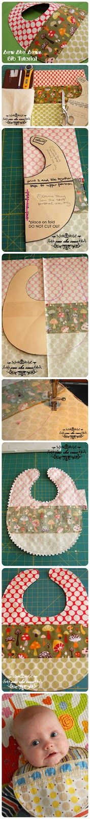joybobo: Quilted Patchwork Bib Pattern And Tutorial