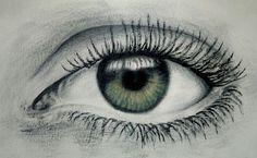 Dry brush eye