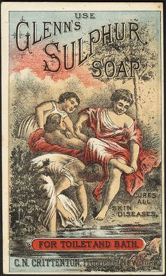 Use Glenn's Sulphur Soap for toilet and bath. [front] | Flickr - Photo Sharing!