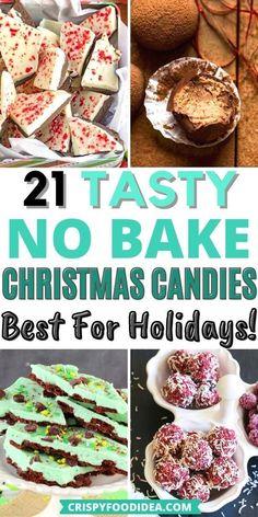 Easy Christmas Treats, Holiday Snacks, Holiday Candy, Christmas Foods, Christmas Sweets, Christmas Cooking, Christmas Candy, Christmas Recipes, Holiday Recipes