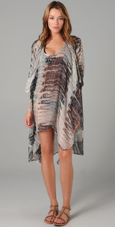 Awesome beach coverup from Tigerlily at Shopbop.