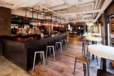 interiors, restaurant