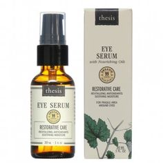 Thesis Organic Facial Recovery Serum - Nourishing Smoothing Replenishing Moisturizer for Dry, Mature and Dehydrated Skin with Pomegranate Antioxidants, Argan, Grapeseed, Rosehip Oils Organic Facial, Organic Skin Care, Natural Skin Care, Natural Face, Organic Oils, Natural Beauty, Organic Makeup, Raw Beauty, Natural Glow
