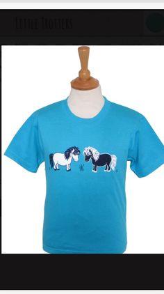 2 Shetlands €9.99 Pony, Horse, Sweatshirts, Sweaters, T Shirt, Fashion, Pony Horse, Supreme T Shirt, Moda