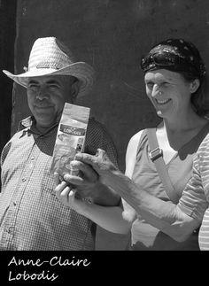 Anne Claire Lepage commercialise les cafés Lobodis en Ille & Vilaine