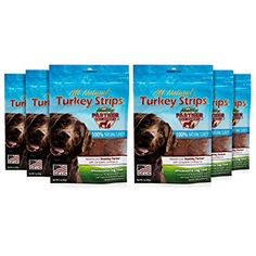 Healthy Partner Pet Snacks - All-Natural Turkey Strips - 3 oz. Bags, Pack of 6 * Visit the image link more details. (This is an affiliate link) Dog Snacks, Dog Treats, Turkey, Packing, Pets, Healthy, Nature, Image Link, Amazon