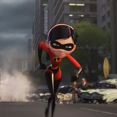 This is the scene where Violet are runs after the Underminer's driller Disney Pixar, Best Disney Movies, Disney And Dreamworks, Aurora Rose, Character Art, Character Design, Violet Parr, Froggy Stuff, Superhero Cosplay