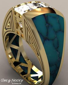 Brilliant Luxury by Emmy DE * Greg Neeley Indian Princess Ring