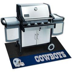 Dallas Cowboys NFL Vinyl Grill Mat