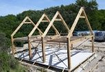 Spantconstructies - Apeikenhoutconstructies - Eiken vakwerk - Carports - Buitenkeukens - tuinkamers - overkappingen - hekwerken - paardenstallen - schuren en nog veel meer!