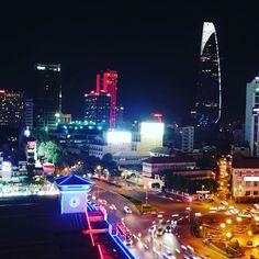 ホーチミンの夜景を見ながら by yukarin813