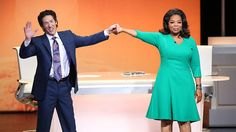 Pastor Joel Osteen says that the words you speak can become your destiny. Watch as Pastor Osteen, one of America's most influential spiritual leaders, leads Oprah and the audience in a powerful 'I am' exercise.