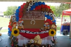 """Photo 1 of 99: Cowboy, Western / Baby Shower/Sip & See """"Cowboy Baby Shower"""" 