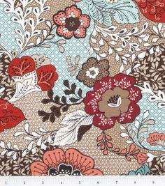MM Devon Large Floral Taupe