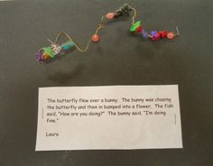 To the Lesson!: Beaded Wire Sculptures
