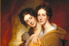 """Rembrandt painting """"The Sisters"""""""